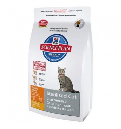 Hill´s Science Plan Feline Sterilised Cat Young Adult Frango 3.5kg