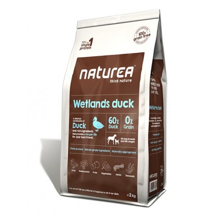 Naturea Wetlands Duck (Pato sem Cereais) 12kg