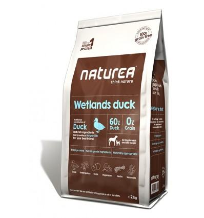 Naturea Wetlands Duck (Pato sem Cereais) 12kg