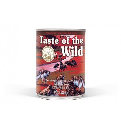Taste of the Wild Cão Húmidos Southwest Canyon Javali lata 390gr