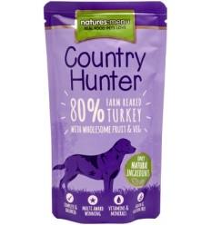 Natures Menu Country Hunter Dog Húmidos c/ Carne Peru Saqueta 150Gr