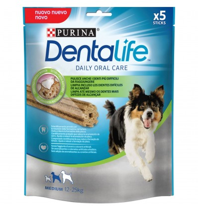 PURINA DentaLife Snack Medium 12-25kg (5 sticks)
