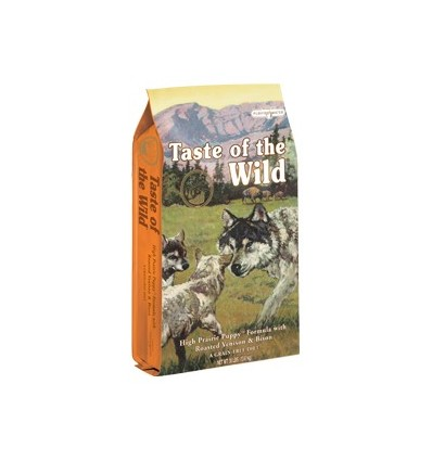 Taste of the Wild Puppy High Prairie bisonte e veado 13Kg