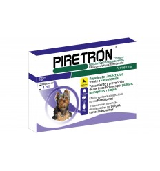 Piretrón Spot On 1ml - Cães até 15kg ( 1 pipeta )