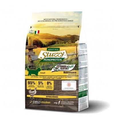 Stuzzy Monoprotein Grain & Gluten Free Adult Small Frango 800 gr