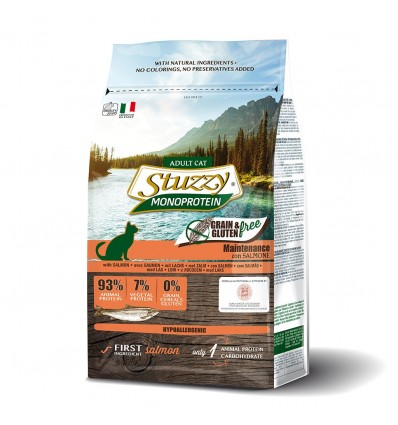 Stuzzy Monoprotein Grain & Gluten Free Cat Adult Salmão 400gr