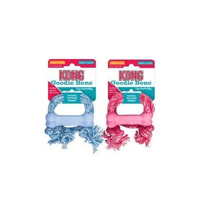 Brinquedo Kong Goodie Bone c/ Corda Tamanho XS