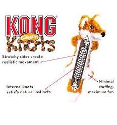 Brinquedo Kong Peluche Scrunch Knots Guaxini - Medium/Large (37cm)