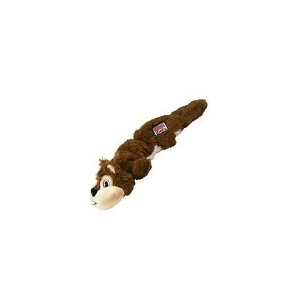 Brinquedo Kong Peluche Scrunch Knots Esquilo - Small/ Medium (26 cm)