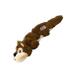 Brinquedo Kong Peluche Scrunch Knots Esquilo - Medium/Large (37 cm)