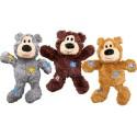 Brinquedo Kong Peluche Wild Knots Urso Dourado - M/L (28 cm)