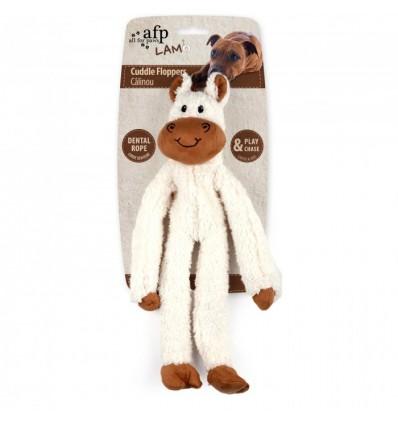 Brinquedo AFP Peluche p/ Cão c/ Corda Dental Burro (43 cm)