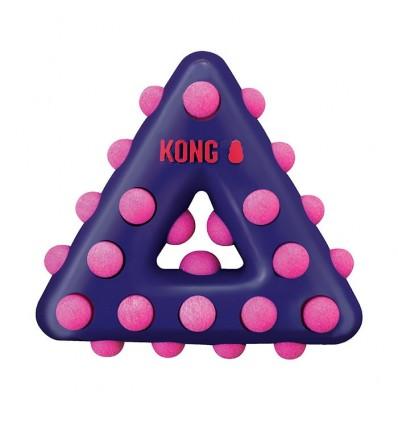 Brinquedo Kong Dotz Triangulo - Small
