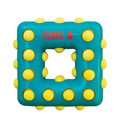 Brinquedo Kong Dotz Quadrado - Large