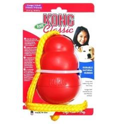 Brinquedo Kong Classic Corda - Medium (7-16kg)