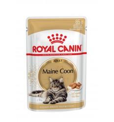 Royal Canin Maine Coon Loaf Húmidos Saquetas 85gr x 12uni.