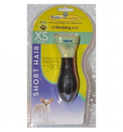Furminator Escova Cães Raça Mini Pêlo Curto ( - 5cm) - XS