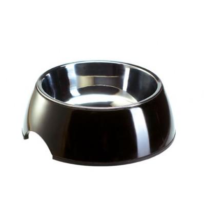 Alimentador/Bebedouro Hunter Melamina/Inox Preto - XL (1400ml)