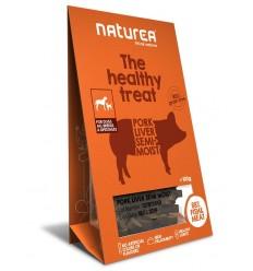 Naturea Snacks p/ Gato Porco e Figado 100gr (APROX. VALIDADE 08/08/18)