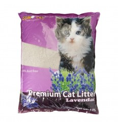 Areia - Sumo Cat Litter 10L - Aroma Lavanda