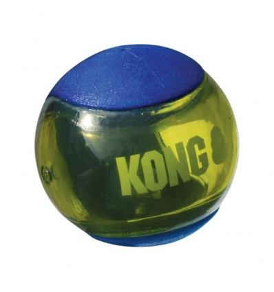 Brinquedo Kong Squeezz Action c/ Som - Tamanho M