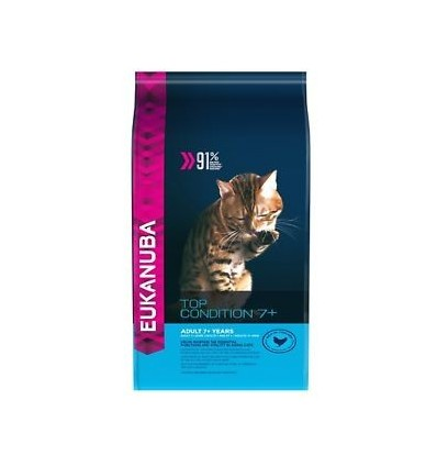 Eukanuba Cat Adult 7+ Frango 10Kg