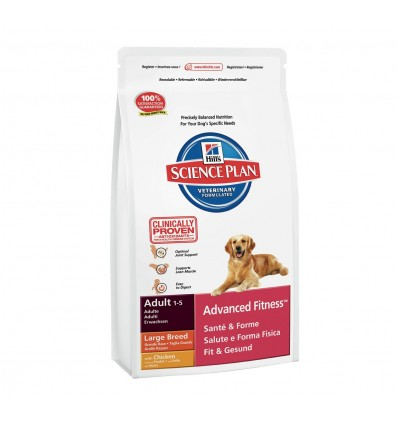 Hill's Science Plan Canine Adult Large Breed Frango 12kg + 2,5Kg OFERTA