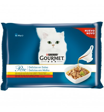Purina Gourmet Perle Beef Saq. 85gr.