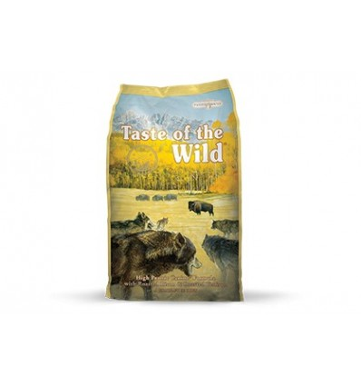 Taste of the Wild Adulto High Prairie Bisonte e Veado 13,61Kg