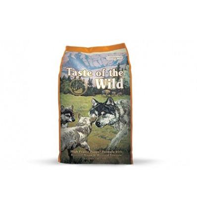 Taste of the Wild Puppy High Prairie bisonte e veado 13Kg