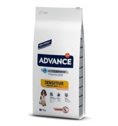 Advance Cão Adult Sensitive Medium/Maxi 12 Kg
