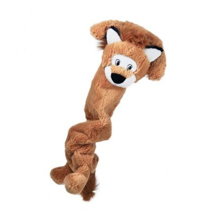 Brinquedo Kong Peluche Elástico Jumbo Stretchezz c/ som Leão - XL (75 cm)