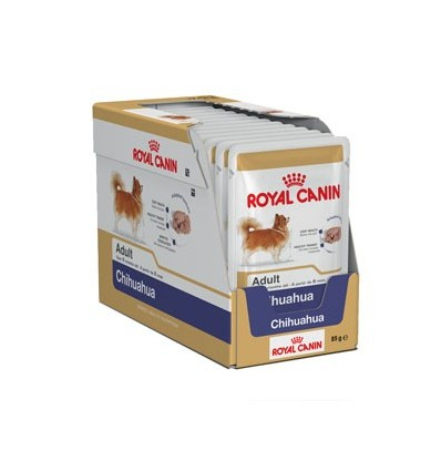 Royal Canin Chihuahua Adult Húmidos Saqueta 12x85g