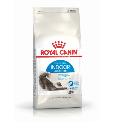Royal Canin Indoor Long Hair 35, Gato, Seco, Adulto, Alimento/Ração