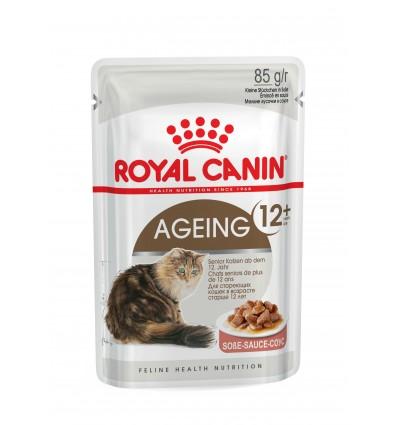 Royal Canin Gatos Ageing +12 Húmidos Saquetas 85g x 12uni.