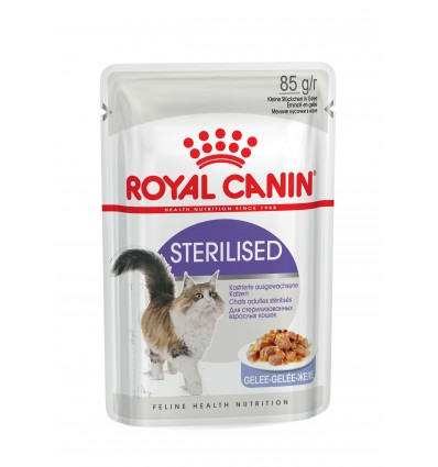 Royal Canin Gatos Sterilised (Jelly), Gatos, Húmidos, Adulto, Alimento
