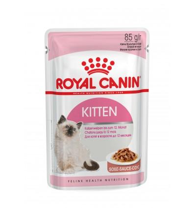 Royal Canin Kitten (Gravy), Gatinhos, Húmidos Alimento