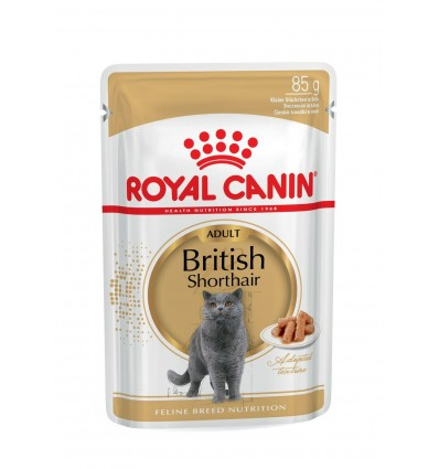 Royal Canin British Shorthair (Loaf), Gatos, Húmidos, Alimento