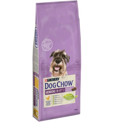 Purina Dog Chow Senior com Frango 14Kg
