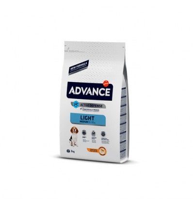 Advance Cão Médium Light 12Kg