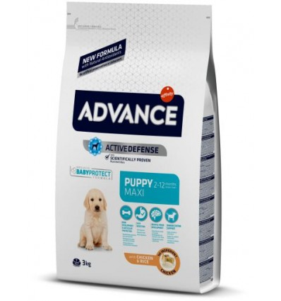 Advance Cão Maxi Puppy 3kg