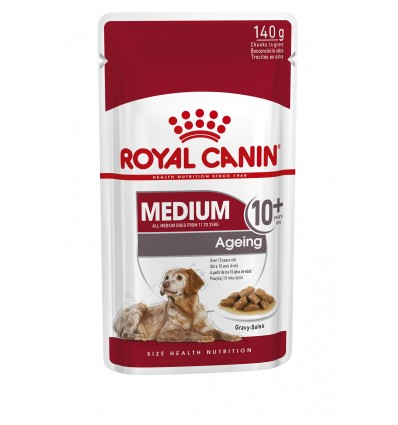 Royal Canin Medium Ageing 10+, Cão, Húmidos, Adulto, Alimento