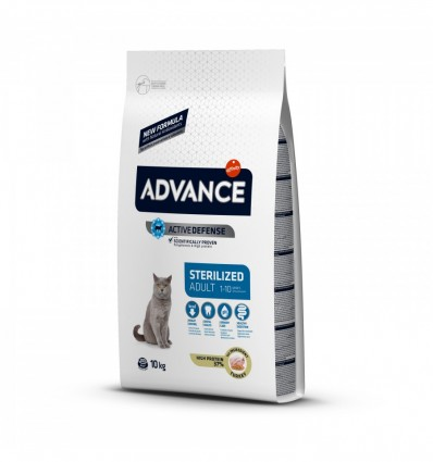 Advance Gato Adulto Sterilised Perú/Cevada 15Kg