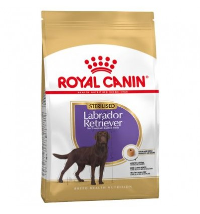 Royal Canin Labrador Retriever Sterilised, Cão, Seco, Adulto. Alimento/Ração
