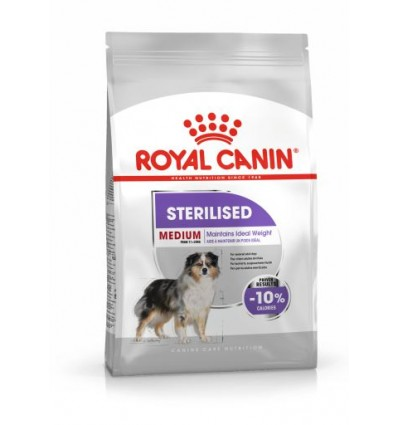 Royal Canin Medium, Cão, Seco, Adulto Sterilised, Alimento/Ração