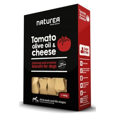 Naturea Snacks p/Cão Tomate, Azeite e Queijo 230G