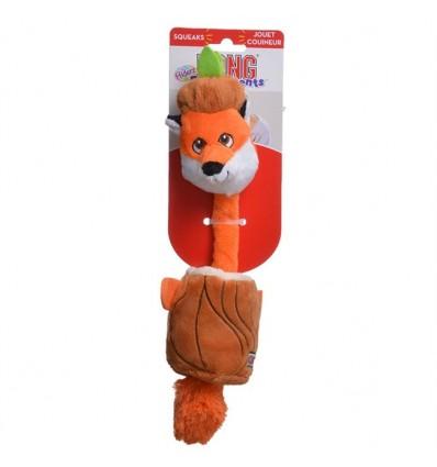 Brinquedo Kong Peluche Puzzlements Raposa - Large
