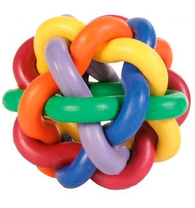 Brinquedo Trixie Bola em Borracha Entrelaçada 10 cm