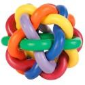 Brinquedo Trixie Bola em Borracha Entrelaçada 7 cm