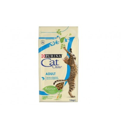 Purina Cat Chow Adult Salmão 15Kg